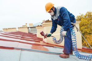 peindre la toiture Le Tignet